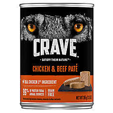 Crave Adult Dog Food - Natural, Grain Free Pate
