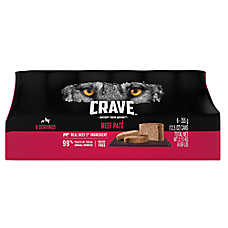 Crave ™ Adult Dpg Food - Natural, Grain Free, Beef Pate - 6 Pack
