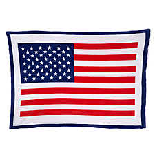 Top Paw® Americana Flag Pet Blanket