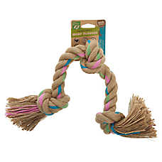 Only Natural Pet® Triple Knot Hemp Flosser Dog Toy - Rope