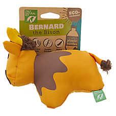 Only Natural Pet® Bernard the Bison Dog Toy - Plush, Squeaker