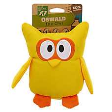 Only Natural Pet® Oswald the Owl Dog Toy - Plush, Squeaker