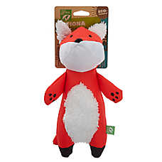 Only Natural Pet®  Fiona the Fox Dog Toy - Plush, Squeaker
