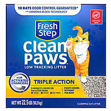 Fresh Step® Clean Paws Triple Action Cat Litter - Clumping, Scented
