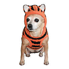 Hip Doggie Tiger Hoodie Dog Sweater