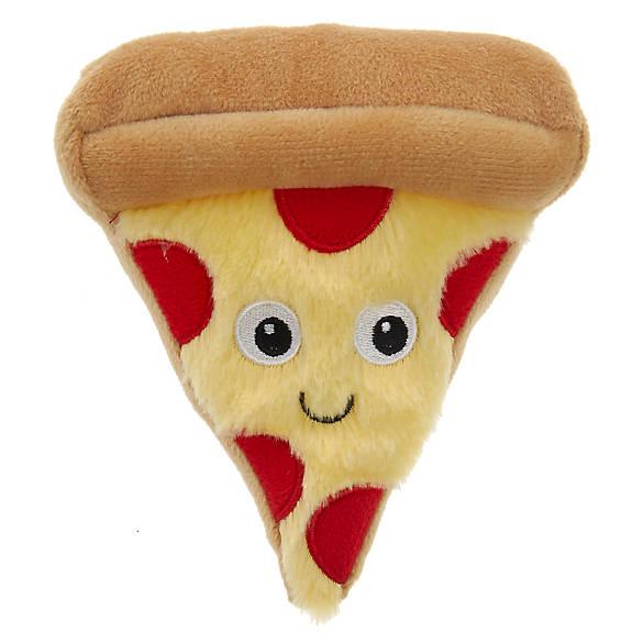 Grreat Choice® Pizza Dog Toy - Plush, Squeaker | dog Plush