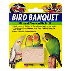 Zoo Med™ Bird Banquet® Fruit Formula Mineral Block