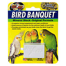 Zoo Med™ Bird Banquet® Seed Formula Mineral Block