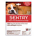 SENTRY® Flea & Tick Squeeze-On Treatment for Dogs - 3 Pack