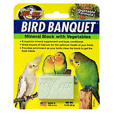 Zoo Med™ Bird Banquet® Vegetable Formula Mineral Block