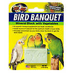 Zoo Med™ Bird Banquet® Vegetable Formula Mineral Block