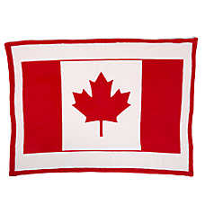 Top Paw® Canada Day Flag Pet Blanket
