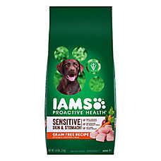 Iams® ProActive Health ™ Sensitive Skin & Stomach Dog Food - Grain Free, Chicken & Peas