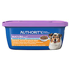 Authority® Tender Blends Stew Wet Mature Adult Dog Food