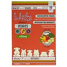 Licks® Calming Healthy Gummi Veggies for Dogs
