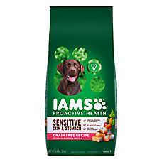 Iams® ProActive Health™ Sensitive Skin & Stomach Dog FOod - Grain free, Salmon & Lentils