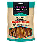 Dentley's® Gourmet Rawhide Twist Dog Treat - Chicken