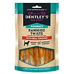 Dentley's® Gourmet Rawhide Twist Dog Treat - Chicken