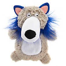 Top Paw® Holy Guacamole Wolf Flattie Dog Toy - Crinkle