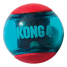 KONG® Action Squeezz® Ball Dog Toys - 2 Pack