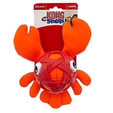 KONG® Sea Shells™ Lobster Dog Toy