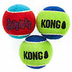 KONG® SqueakAir® Tennis Balls Dog Toy - 3 Pack