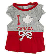 Top Paw® Canada Day Pet Dress