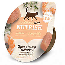 Rachael Ray™ Nutrish® Cat Food - Natural, Grain Free, Chicken & Shrimp Pawttenesca