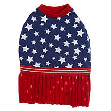 Top Paw® Americana Stars & Stripes Pet Dress