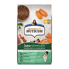 Rachael Ray™ Nutrish® Indoor Complete Cat Food - Natural, Chicken with Lentils & Salmon Recipe