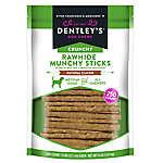Dentley's® Crunchy Rawhide Munchy Stick Dog Treats