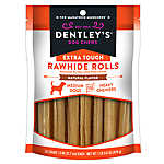 """Dentley's® Extra Touch 5"""" Rawhide Rolls Dog Treats"""