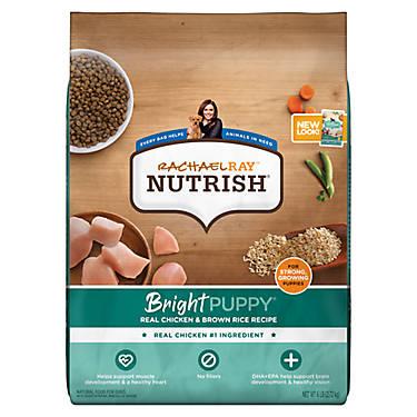 Rachael Raytrade Nutrish Bright Puppy Food Natural Chicken
