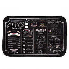 Whisker City® Microfiber Menu Cat Placemat