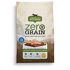 Rachael Ray™ Nutrish® Zero Grain Dog Food - Natural, Grain Free, Chicken & Sweet Potato Recipe