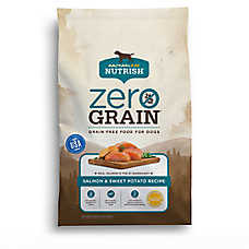 Rachael Ray™ Nutrish® Zero Grain Dog Food - Natural, Grain Free, Salmon & Sweet Potato Recipe