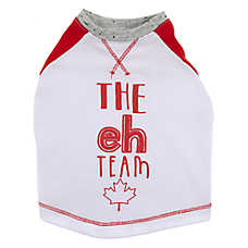 "Top Paw® Canada Day ""The eh Team"" Pet Tee"