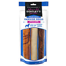 Dentley's® Traditional Rawhide Rolls Dog Treats - Assorted