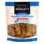 Dentley's® Traditional Rawhide Chew Chips Dog Treats - Chicken