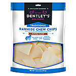 Dentley's® Traditional Rawhide Chew Chips Dog Treats