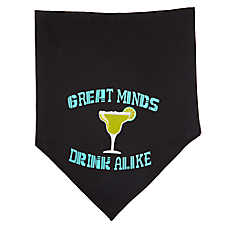 "Top Paw® Holy Guacamole ""Great Minds Drink Alike"" Pet Bandana"