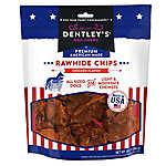 Dentley's® Premium American Made Rawhide Chew Chips Dog Treats - Chicken