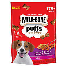 MILK BONER Puffs Light Crunchy Mini Dog Treat