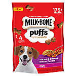 MILK-BONE® Puffs Light & Crunchy Mini Dog Treat - Bacon & Peanut Butter Flavor