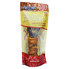 Grillerz Flavor Fusion Large Beef Bone wrapped with Ham