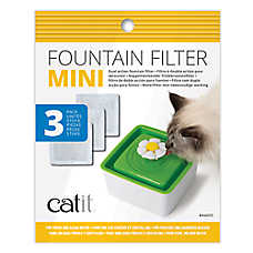 Catit® Mini Fountain Filters - 3 Pack