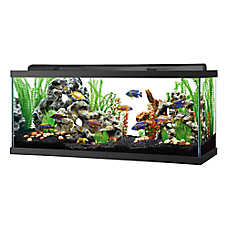 Top Fin® LED Hooded Aquarium