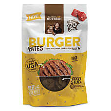 Rachael Ray™ Nutrish® Burger Bites Dog Treat - Grain Free, Beef with Bison Burger Recipe