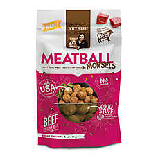 Rachael Ray™ Nutrish® Meatball Morsels Dog Treat - Grain Free, Beef, Chicken & Bacon Recipe