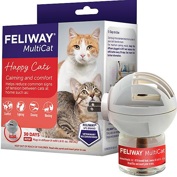 Feliway Multicat Starter Kit Feliway Plug In For Cats Petsmart
